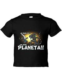 Camiseta niño mi papá es de otro planeta Alien