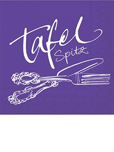 Rezept Tafelspitz - Servietten 33x33 cm