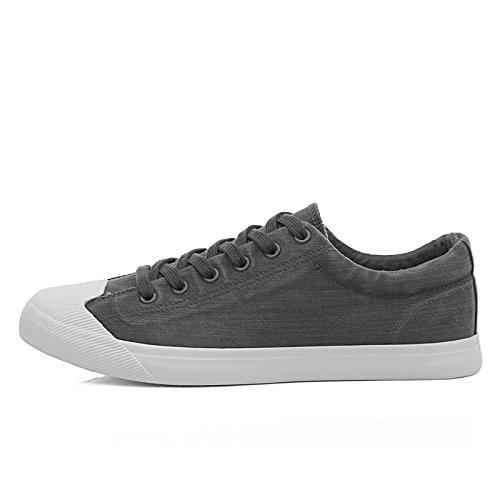 le scarpe casual respirabile occasionale tendenza espadrilli uomini studenti espadrilli gray