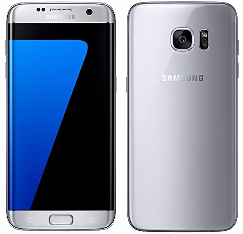 Samsung Galaxy S7 Edge SM-G935F Factory Unlocked Smartphone - Retail Packaging - Titanium Silver