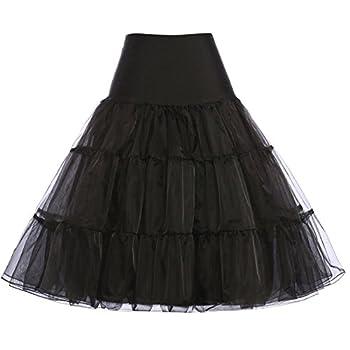 Women's 50s Retro Petticoat Underskirt Vintage Swing 1960's Rockabilly Crinoline X-large 0