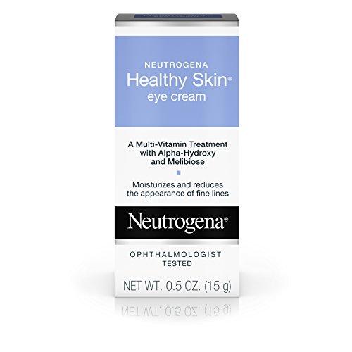 Neutrogena Crème pour les yeux Healthy Skin - Traitement multivitaminé - Réduit boursouflure et l'apparence des ridules autour des yeux - 14 g