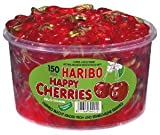 Haribo Happy Cherries, Dose, 2er Pack (2 x 1200g)