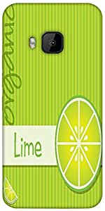 Snoogg Bright Organic Lime Card In Vector Format Designer Protective Back Cas...