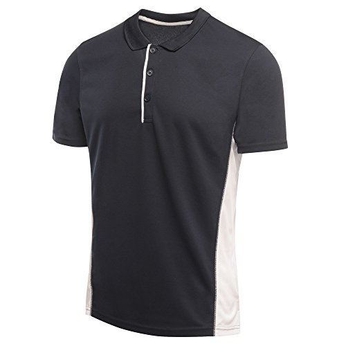 Regatta Herren Poloshirt Salt Lake Polo, XX-Large Schwarz