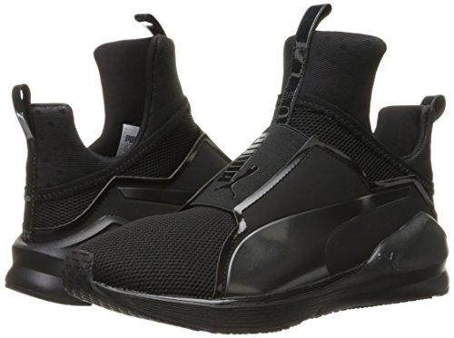 PUMA Women s Fierce CORE Cross-Trainer Shoe  Black  4 UK