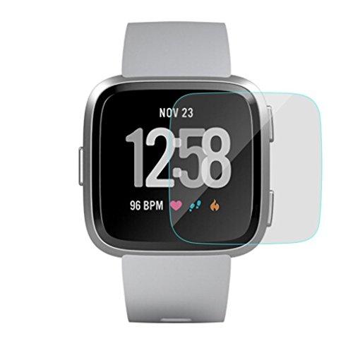 Displayschutzfolien,erthome Transparenter Klarsichtschutzfolie für Fitbit Versa, Watch Schutz Film (A)