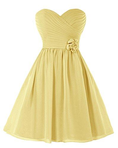 Bridal_Mall - Robe - Femme Jaune - Jaune