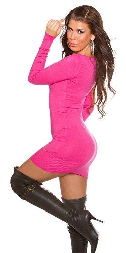 Sexy KouCla Longpulli mit Wasserfallausschnitt Koucla by In-Stylefashion SKU 0000ISF811901 Pink