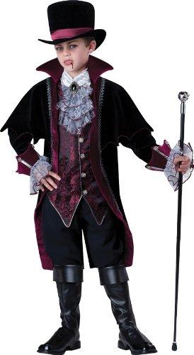 Gentleman Vampir von Versailles Kinderkostüm - Gr. 16/156-160cm