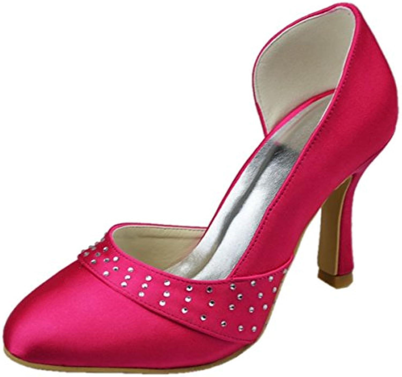 cc9d878fcb81 ... ShuWish UK Vicky Red Faux Suede T-Bar Peep Toe Platform Wedge Sandals  B01EK5CLUM Parent