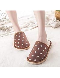 LOMYEN Pantofole Da Bagno Home Cotton Pantofole Da Bagno Winter Pantofole Da Bagno Scarpe Antiscivolo,40/41