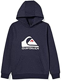Quiksilver Big Logo - Sudadera con Capucha para Niños 8-16 Sudadera con Capucha Niños