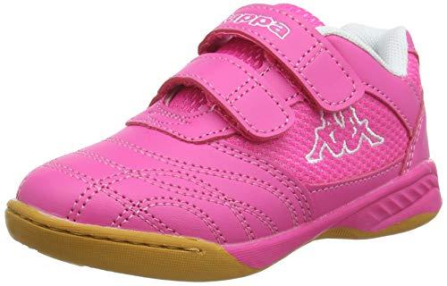 Kappa Mädchen Kickoff OC Kids Sneaker, Pink (Pink/White 2210), 29 EU