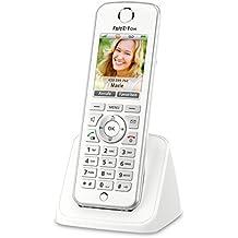 AVM FRITZ!Fon C4 Telefon (Farbdisplay, beleuchtete Tastatur) weiß, deutschsprachige Version