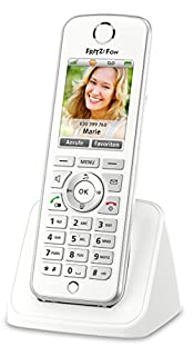 AVM FRITZ!Fon C4 Telefon (Farbdisplay, beleuchtete Tastatur) weiß, deutschsprachige Version (B00H90PS92) | Amazon Products