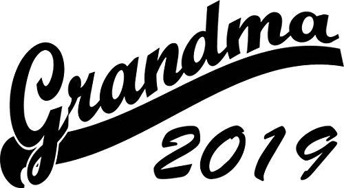 Mister Merchandise Herren Men T-Shirt Grandma 2019 Tee Shirt bedruckt Weiß