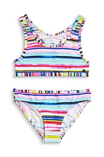 Urlaub Bustier (ESPRIT Mädchen Hazel Beach YG Bustier+Brief Badebekleidungsset, Rosa (Pink Fuchsia 660), 170 (Herstellergröße: 170/176))