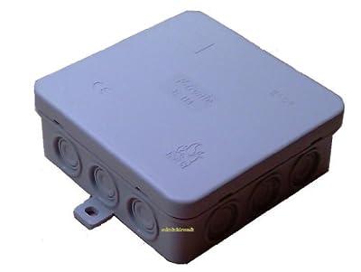 Abzweigdose 100x100x40mm IP54 Feuchtraum von F-tronic auf Lampenhans.de