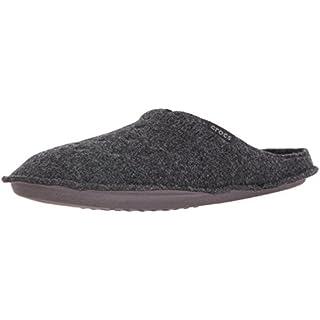 crocs Classic Slipper, Unisex-Erwachsene Ungefüttert Hausschuhe, Schwarz (Black/Black), 48/49 EU