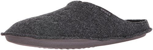Crocs Classic Slipper, Zapatillas de Estar por casa Unisex Adulto, Negro Black/Black, 43/44 EU