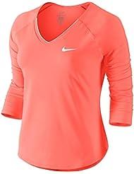 camisetas nike mujer naranja