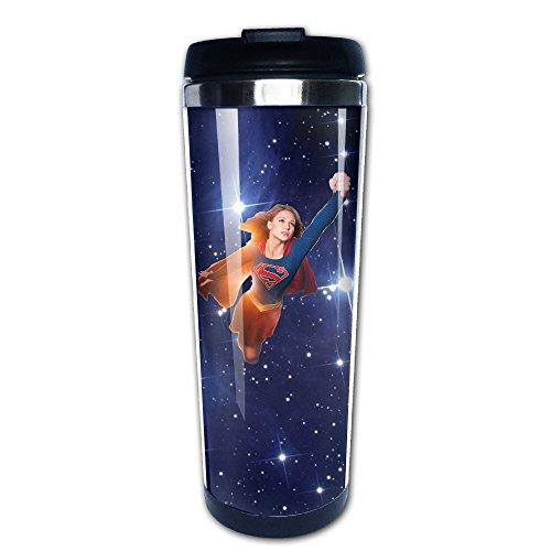 shuizhuyu Supergirl Edelstahl Tasse/Kaffee Thermos/Thermoskanne,