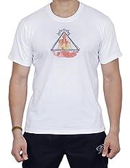 Store Indya, Camiseta de manga corta unisex Yoga de 100% algodon