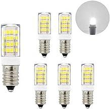 ENUOTEK Lamparas Bombillas Pequeñas SES Casquillo E14 de LED 5W de Bajo Consumo Luz Fria 6000K
