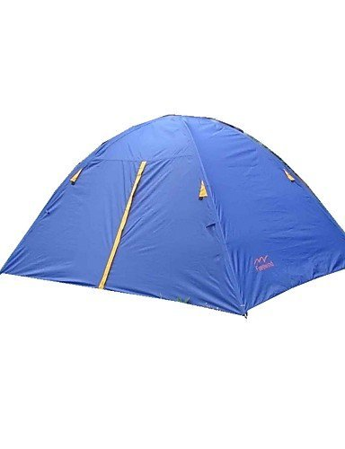 ZQ – Two Man Camping tent04, blu