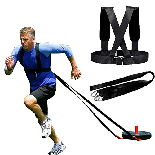 RENNICOCO Bungee Band Resistance, Bungee Workout Band, Running Speed, Speed Strength, Basket e Attrezzature da Calcio per Migliorare Forza, Potenza e agilità