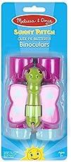 Melissa & Doug Sunny Patch Cutie Pie Butterfly Binoculars, Multi Color