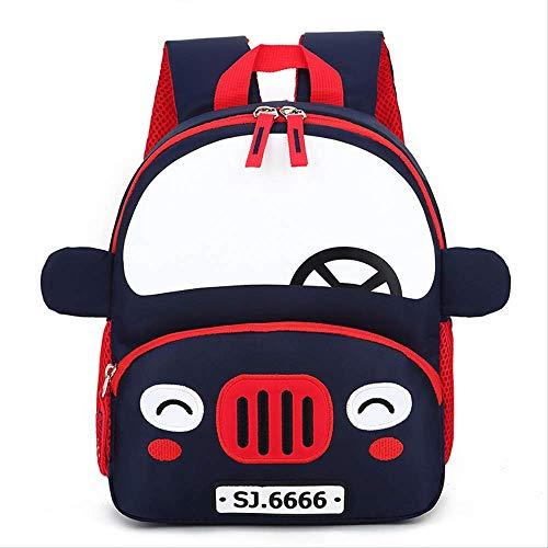 Kinder Tasche, Auto Rucksack Cartoon Kindergarten Tasche Anti-verlorene Kinder Tasche Kinder Schule Taschen Kindergarten, Süßigkeiten Farben blau1 -