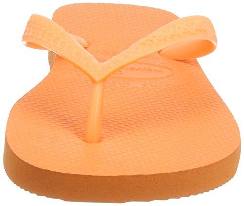 Havaianas Flip Flops Top Zehentrener für Männer/Frauen Arancione (Orange Lux)