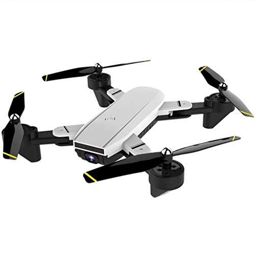 RCDNE Drone con Flusso Ottico Follow Me Gesture Taking Photo, FPV RC Quadcopter Aircraft WiFi Live Video Altitude Hover 2.4GHz 6Axis Gyro Headless Mode