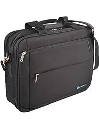"""Savebag - 18092/47- Bagage à Main 47cm Porte-Ordi. 17"""" - Noir - Cap. : 20 Litres"""