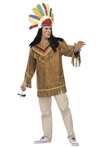 Cesar A136-001 - Disfraz de indio (12 años) (talla 50/52)
