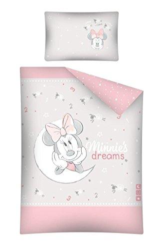 Kinderbettwäsche 100x135 40x60 Minnie Mouse 1625