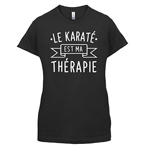 Le karaté est ma thérapie - Femme T-Shirt - 14 couleur Noir