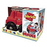 A.K TRADING  Camion Pompier Garni Maxi ABRICK ECOIFFIER