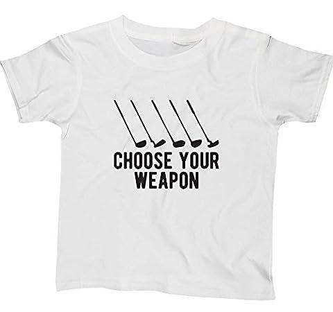 HippoWarehouse - T-shirt - Fille - blanc - 4 ans