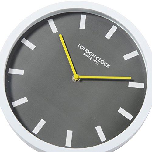 25.5 x 25.5 x 4cm London Clock Pop Orange Wall Clock