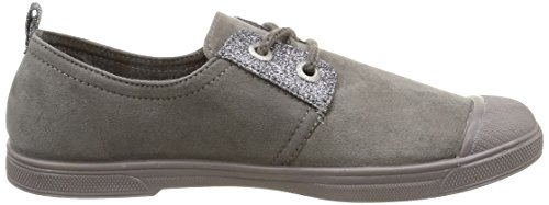 Le Temps des Cerises Basic 02 Mono, Baskets Basses Femme Gris (Fancy Glitter Grey)
