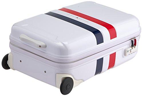 Tommy Hilfiger Cruise Laptop Rollkoffer, 38 Liter, Weiß Weiß