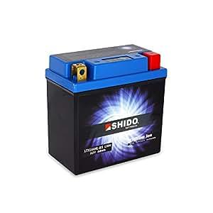 SHIDO LTX14AHL-BS LION -S- Batterie Moto Lithium Ion