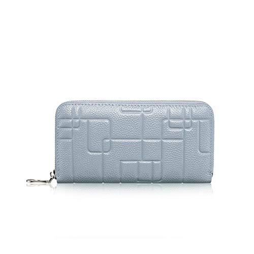 Mode Large Wallet (Relddd Geldbörse Damen Leder Lange Frauen Large-Capacity-A-Layer-Leather-Wallet Mode Multi-Card)