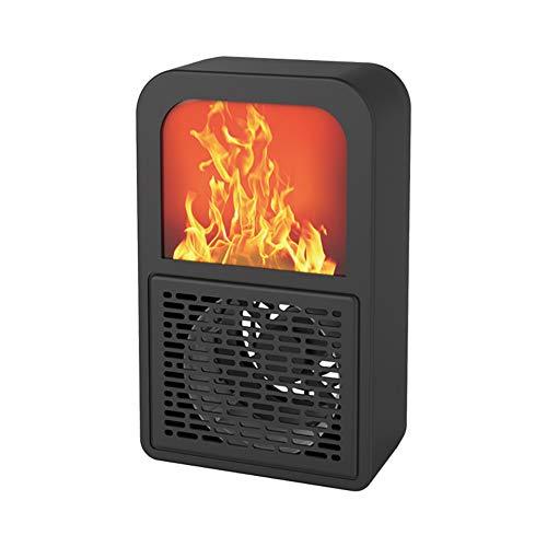 KAILUN Calefactor Eléctrico Cerámica, 400W Calentador de Aire Caliente de Bajo Consumo Estufa Portatil...