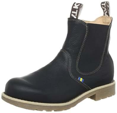 Kavat Ägir Black 918321137, Unisex-Kinder Chelsea Boots, Schwarz (black), EU 37
