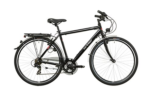 Ortler Lindau Herren schwarz glanz 2016 Trekkingrad