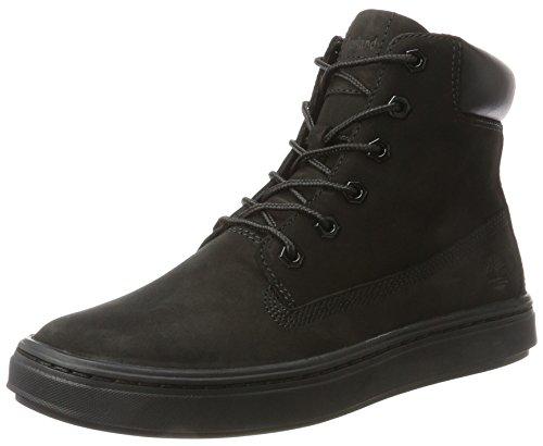 Timberland Damen Londyn 6 inch Stiefel, Schwarz (Black), 38.5 EU (Kit Wildleder Schwarz)